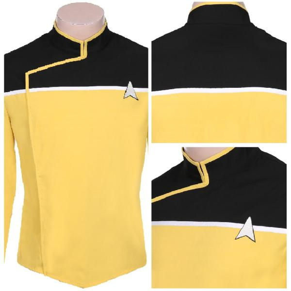 Star Trek: Lower Decks Season 1 Men Uniform Coat Cosplay Costume