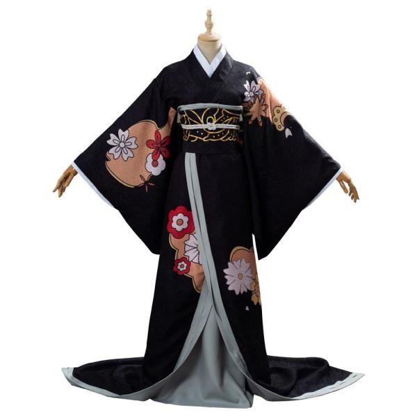 Female Form Kibutsuji Muzan Demon Slayer: Kimetsu no Yaiba Outfit Cosplay Costume