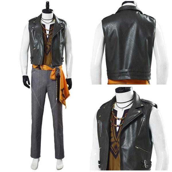 Game Twisted Wonderland Jack Howl Halloween Outfits Cosplay Costume
