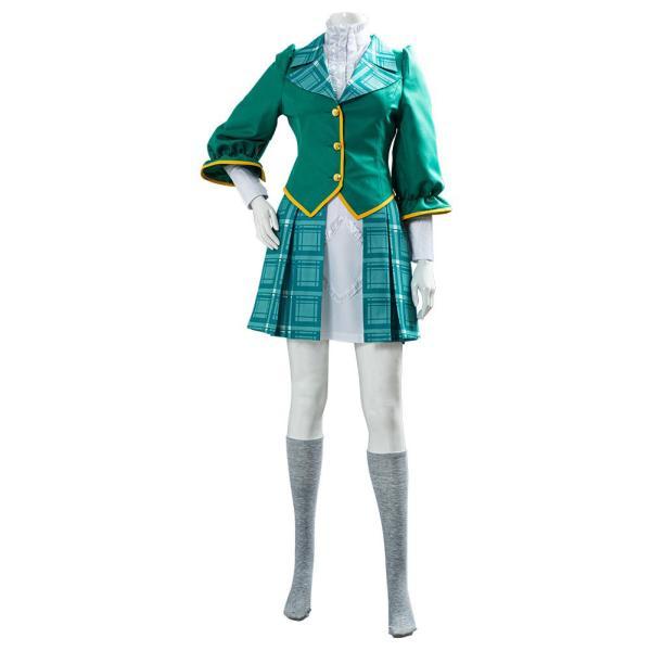Claris Game Project Sakura War School Uniform Cosplay Costume