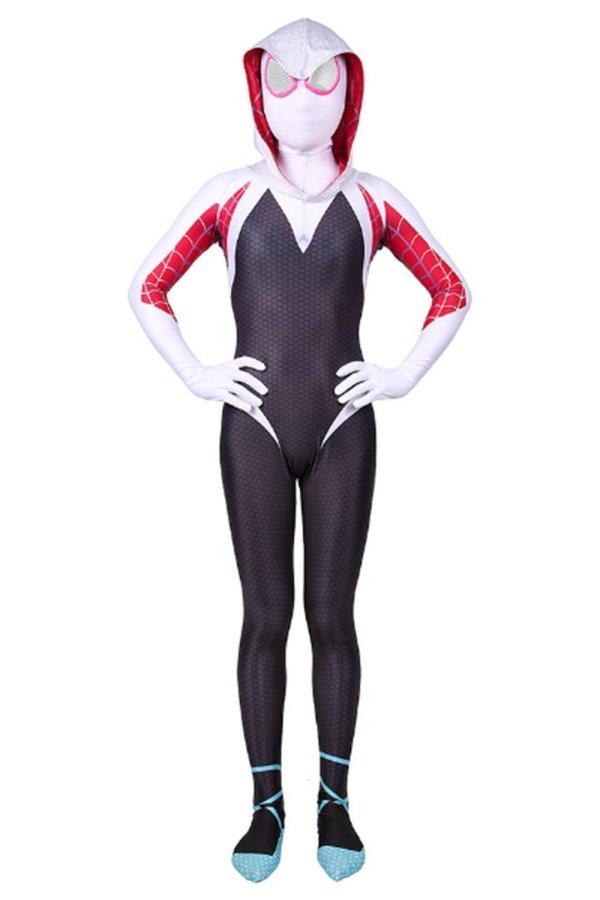 Kids Spider-Man: Into the Spider-Verse Spider-Gwen Halloween Costumes for Girls