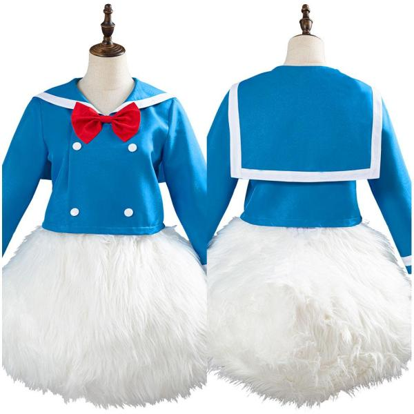 Donald Duck Outfit Halloween Carnival Costume for Adult Cosplay Costume