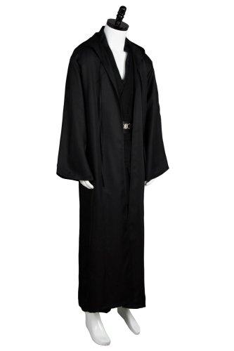 Star Wars Anakin Skywalker Cosplay Costume Outfit Black Version
