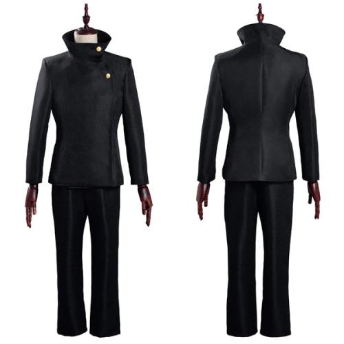 Jujutsu Kaisen School Uniform Outfit Megumi Fushiguro Halloween Carnival Suit Cosplay Costume