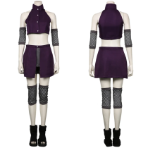 NARUTO Women Skirt Outfit Yamanaka Ino Halloween Carnival Suit Cosplay Costume