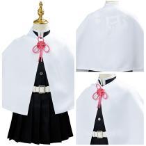 Demon Slayer Halloween Carnival Suit Tsuyuri Kanawo Uniform Outfit Cosplay Costume for Kids Children