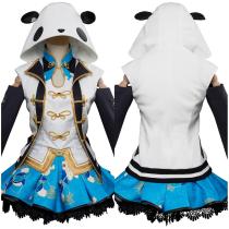 LoveLive Aqours China Dress Ver Tsushima Yoshiko UR Cosplay Costume