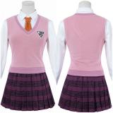 Danganronpa V3: Killing Harmony Uniform Skirt Outfit Akamatsu Kaede Halloween Carnival Suit Cosplay Costume