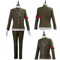 Danganronpa V3 Men Uniform Outfit Korekiyo Shinguji Halloween Carnival Costume Cosplay Costume