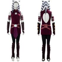 Ahsoka Tano Suit Star Wars: The Clone Wars Cosplay Costume