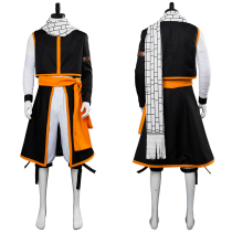 Fairy Tail Final Season Etherious Natsu Dragneel Cosplay Costume