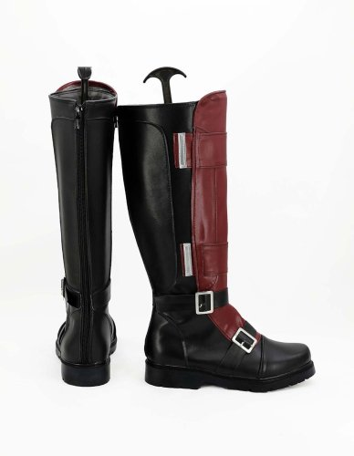 Marvel Deadpool Wade Wilson Cosplay Shoes