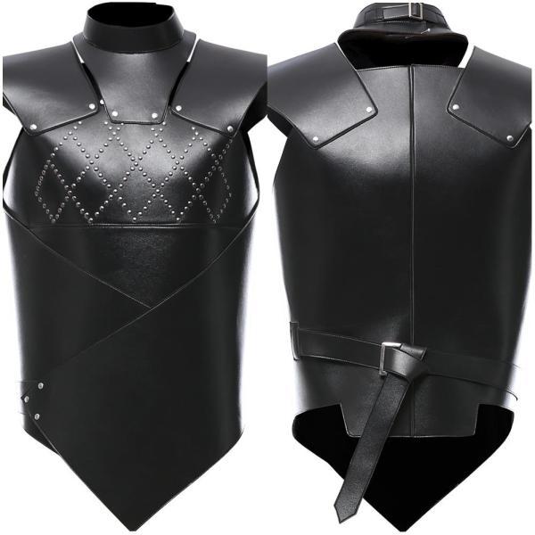 Game of Thrones Vest Gray Worm Uniform Cosplay Costume