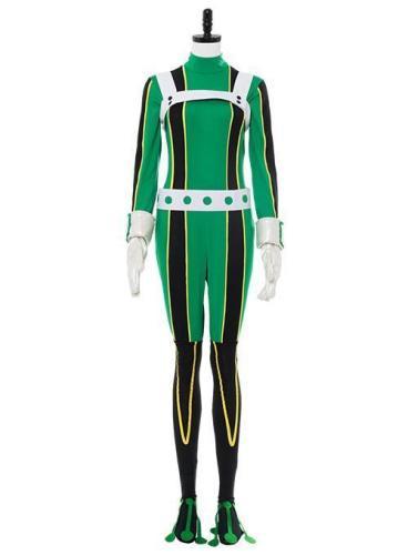 Boku no Hero Academia My Hero Academia Tsuyu Asui Outfit Cosplay Costume