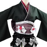 Final Fantasy VII:7 Remake Wall Market Tifa Lockhart Gown Dress Exotic Kimono Cosplay Costume
