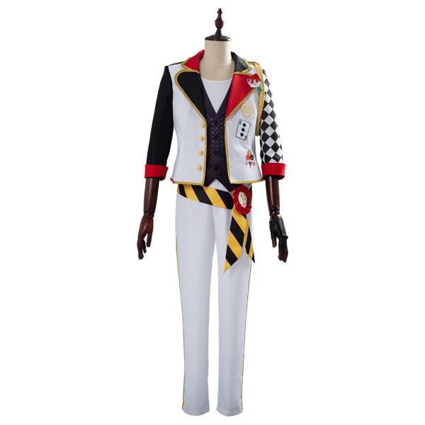 Twisted-Wonderland Game Alice in Wonderland Cosplay Costume Theme Trey