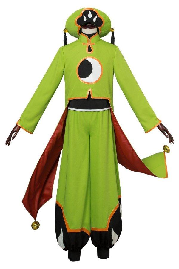 Cardcaptor Sakura :Clear Card Ri Shaoran Battle Outfit Cosplay Costume