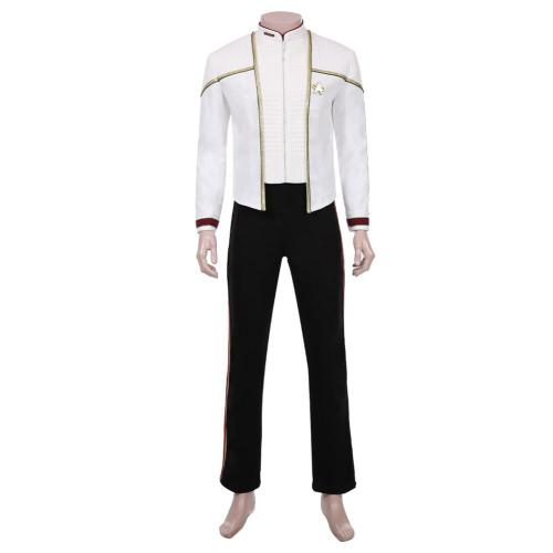 Star Trek-Jean-Luc Picard Jacket Pants Outfit Halloween Carnival Suit Cosplay Costume