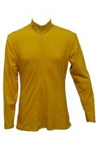 Star Trek Nemesis NEM Duty Uniform Inner Shirt Cosplay Costume Adult Men Yellow