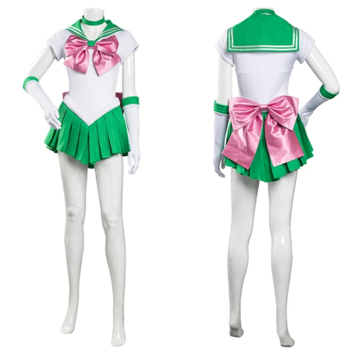 Sailor Moon Uniform Dress Outfit Kino Makoto Halloween Carnival Suit Cosplay Costume