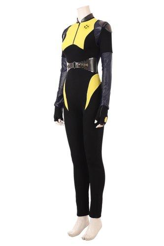 Deadpool 2 Negasonic Teenage Warhead Outfit Ellie Phimister Cosplay Costume