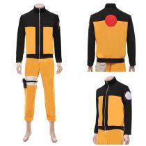 NARUTO Top Pants Outfit Naruto Uzumaki Halloween Carnival Suit Cosplay Costume