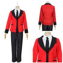 Kakegurui Men School Uniform Outfit Ryouta Suzui Halloween Carnival Suit Cosplay Costume