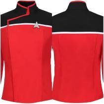 Star Trek: Lower Decks Season 1-Men's Uniform Shirt Top Only Cosplay Costume