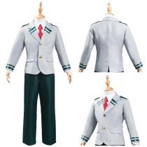 My Hero Academia Kids Children School Uniform Outfit Midoriya Izuku Bakugou Katsuki Halloween Carnival Suit Cosplay Costume