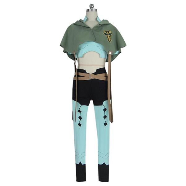 Black Clover Cosplay Jack the Ripper Cosplay Costume