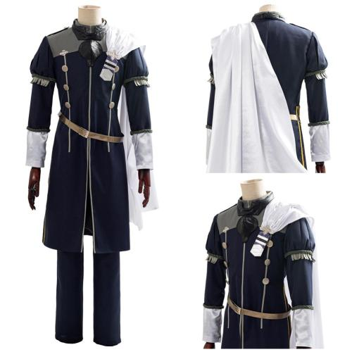 Game Fire Emblem: Three Houses Cindered Shadows Yuri Outfit Cosplay Costume