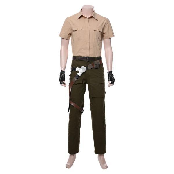 Smolder Bravestone Jumanji: The Next Level Outfit Cosplay Costume