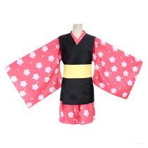 Demon Slayer Kimono Uniform Kisatsutai Makomo Outfit Halloween Cosplay Costume