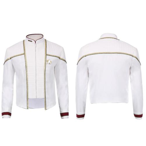 Star Trek-Jean-Luc Picard Men Jacket Pants Outfits Halloween Carnival Suit Cosplay Costume