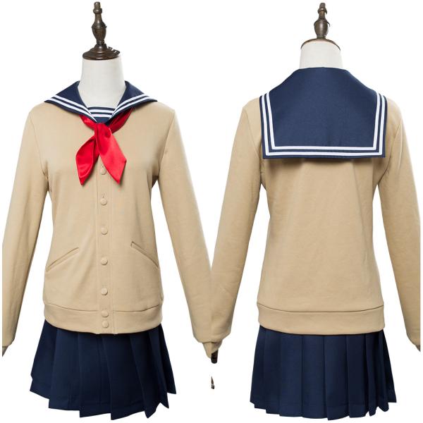 Boku no Hero Academia My Hero Academia Himiko Toga school Uniform Dress Cosplay costume