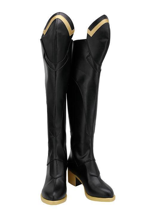 OW Overwatch Mercy Angela Dr. Ziegler Skin Cosplay Shoes