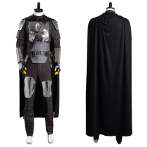 The Mandalorian S2 Coat Uniform Outfit Beskar Armor Halloween Carnival Suit Cosplay Costume