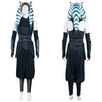 The Mandalorian S2 Top Pants Outfit Ahsoka Tano Halloween Carnival Suit Cosplay Costume