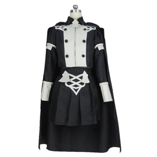 Game Fire Emblem:Three Houses Byleth Cosplay Costume Women Uniform Outfit Halloween Carnival Costume
