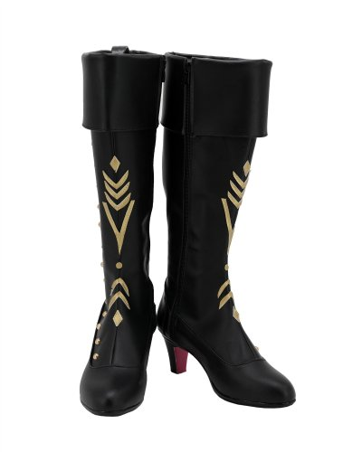 Frozen 2 ANNA Boots Cosplay Shoes