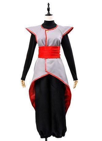 Dragon Ball Super Goku Black Zamasu Merged Potara Fusion Cosplay Costume