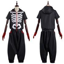Anime Kemono Jihen Top Pants Outfit Kabane Kusaka Halloween Carnival Suit Cosplay Costume