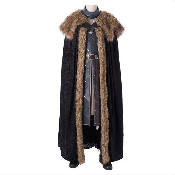 Game Of Thrones Jon Snow Full Set Cosplay Costume