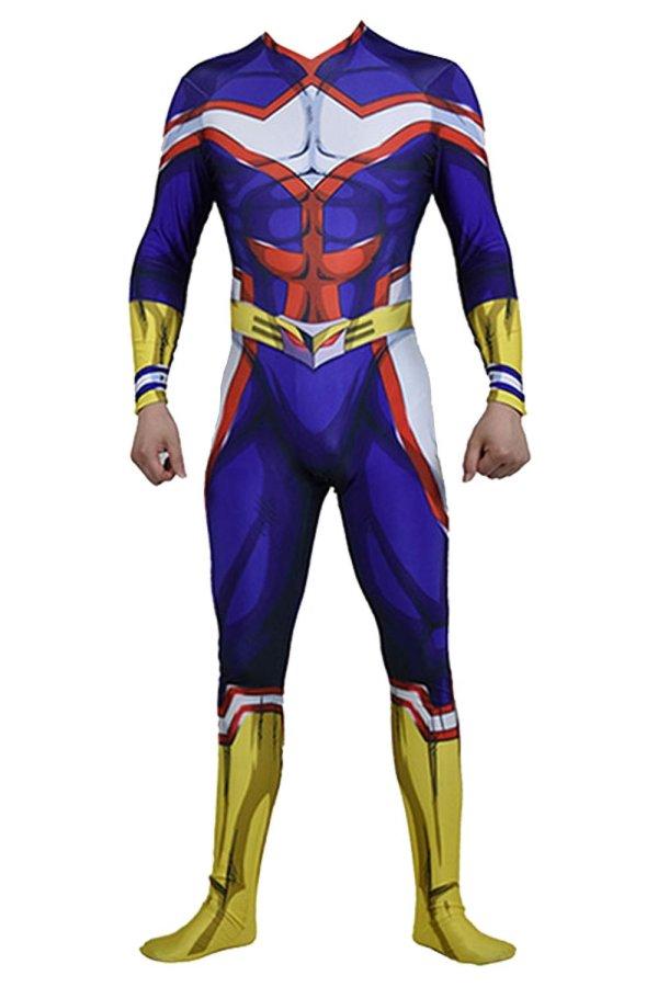 All Might Costume My Hero Academia Boku no Hero Academia Cosplay Costume