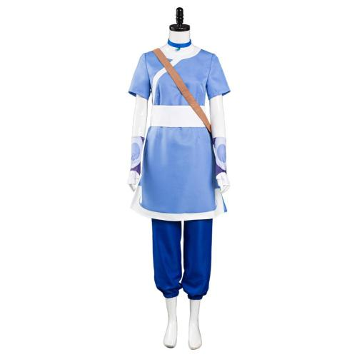 Avatar: the last Airbender Katara Cosplay Costume Halloween Carnival Suit