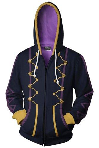 Fire Emblem Awakening Avatar Robin Reflet Daraen Hoodie Zip Up Sweatshirt Unisex