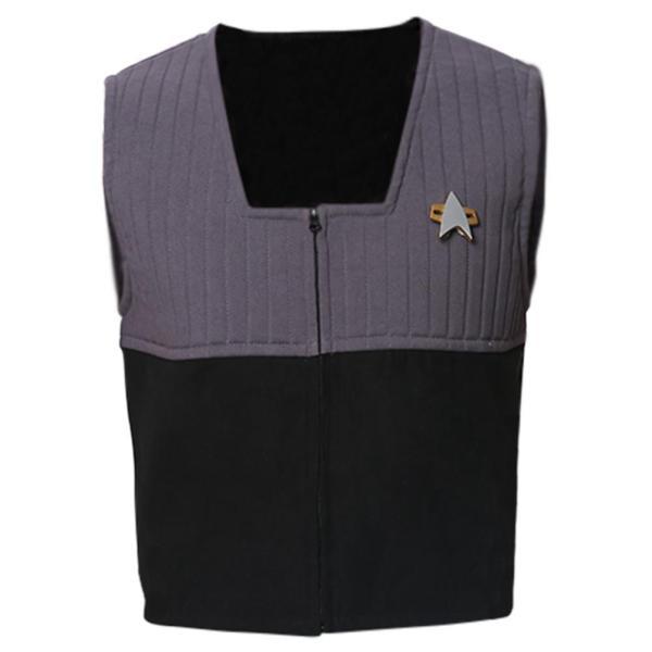 Star Trek Generations Vest Cosplay Costume
