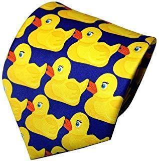 HIMYM How I Met Your Mother Duck Tie Barney's Ducky Necktie