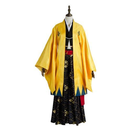 Fate Grand Order Gilgamesh Kimono Cosplay Costume