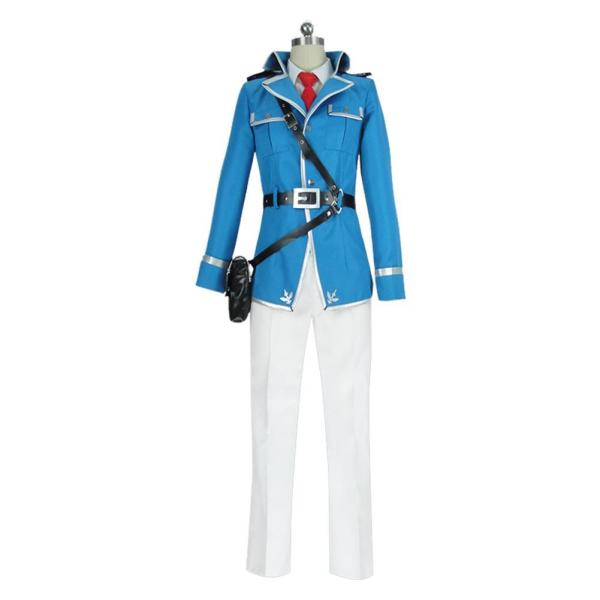 Sword Art Online Alicization War of Underworld Eugeo Military Uniform Cosplay Costume